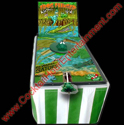 carnival frog flinger game