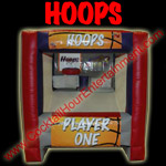 hoops inflatable game button