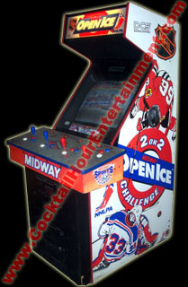 nhl open ice arcade game rental