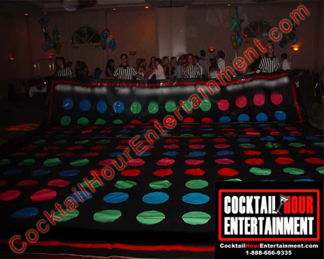 arcade giant twister game rental for party