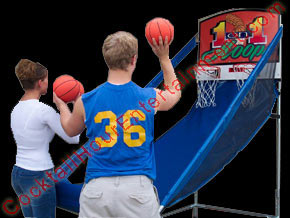 carnival basketball toss game