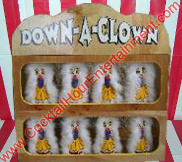 carnival down a clown game