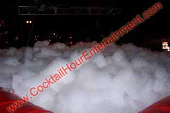 inflatable foam dance pit