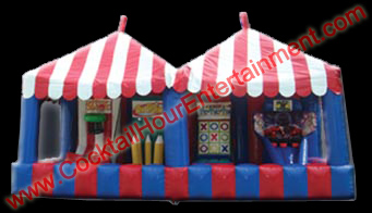 inflatable carnival game booth rental
