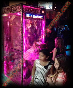 arcade party rental money machine
