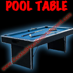 florida arcade game pool table rental