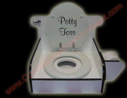 carnival potty toss game