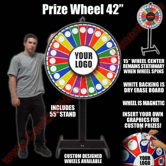 florida prize wheel rental